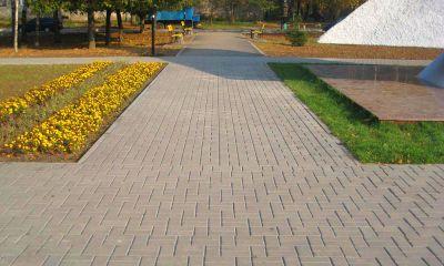 Тротуарная плитка DEKORSTREET на улицах нашего города